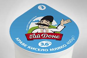 Бай Доне - кисело мляко