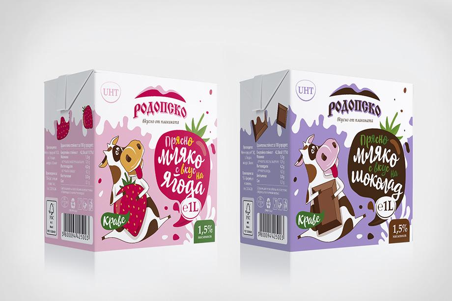 BBB - опаковки на мляко за деца