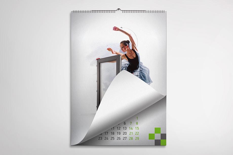 Комфорт Партнерс - стенен календар