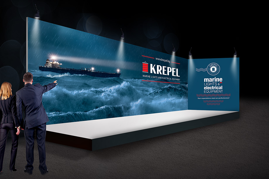 Krepel - exhibition stand