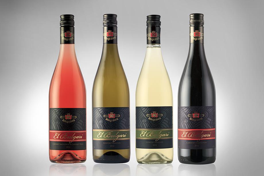 Етикет за вино - Ел Булгари