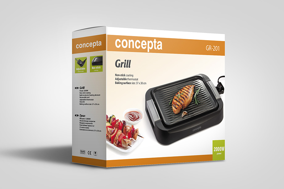 Concepta - appliance packaging