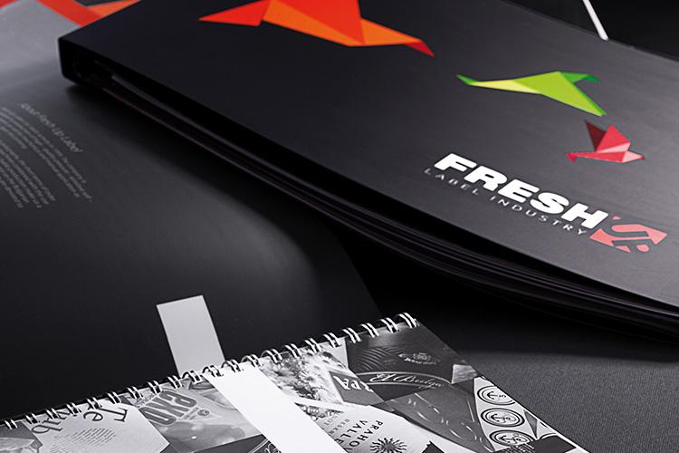 Fresh Up Label - catalogue