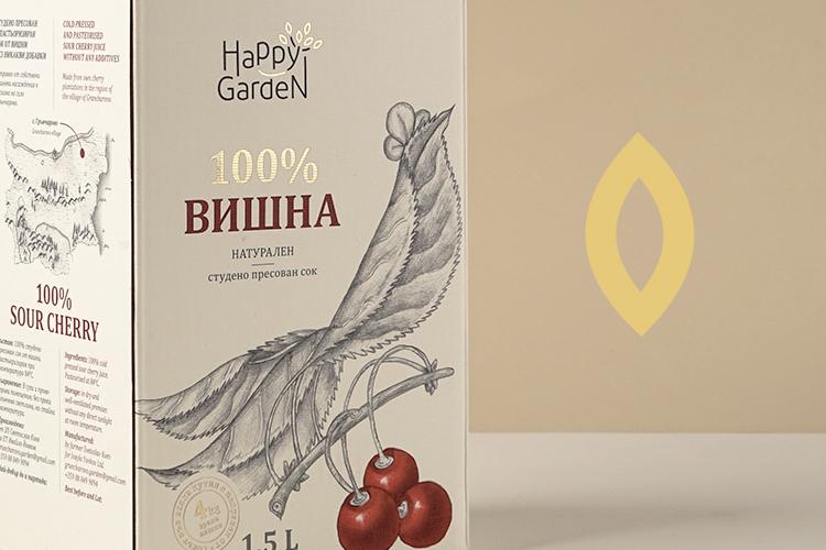 Хепи Гардън - Натурален сок Вишна