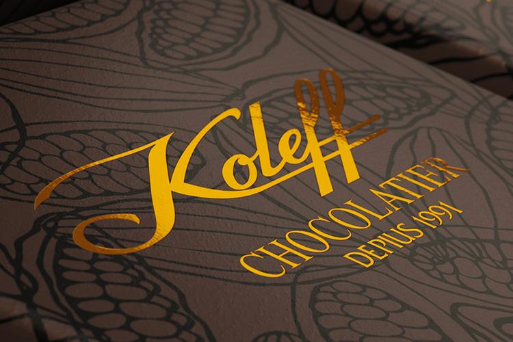 Koleff - опаковки за тъмен шоколад