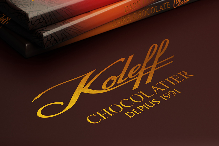 Koleff - Dark Chocolate Packaging