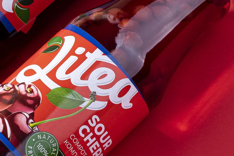 Litea - етикети за компоти и мед