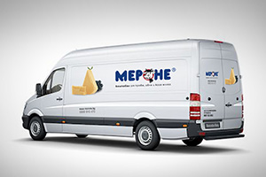 Merone - vehicles branding