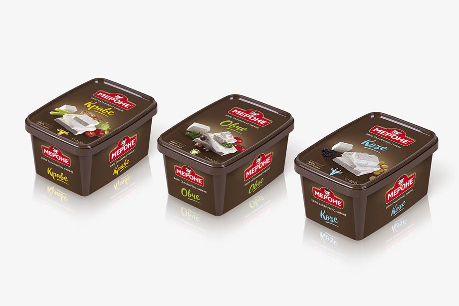 Мероне - опаковки сирене