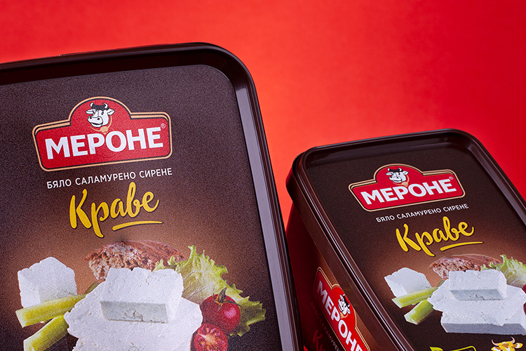 Merone - cheese packages