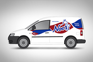 Noor Holding - vehicles branding
