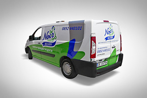 Noor Delivery - vehicle branding