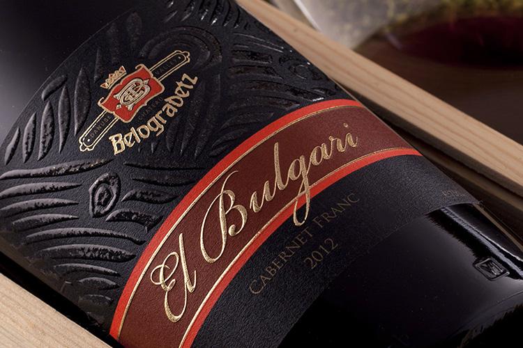 Ел Булгари - Етикет за вино
