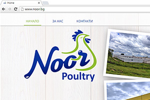 Noor Poultry - website